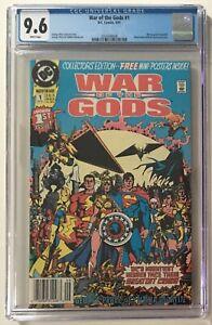 War Of The Gods #1 Newsstand CGC 9.6 NM+ WP Circe App. Wonder Woman Villain