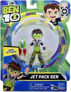 BEN 10 JET PACK BEN FIGURE CARTOON NETWORK