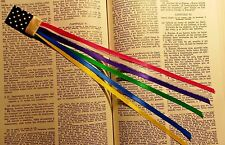 Unique bookmark,  multi pages for bible - handmade
