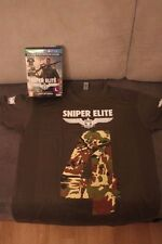 SNIPER ELITE 4 limited Preorder Box Contains T-Shirt L