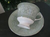 Wedgwood Bone China Kenilworth Cup & Saucer Set Made in England