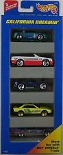 1996 Hot Wheels CALIFORNIA DREAMIN' - 5 CAR GIFT PACK - Great for Playsets! 1:64