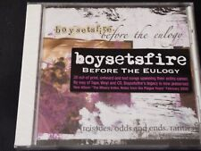 Boysetsfire - Before The Eulogy (SEALED NEW CD 2005)