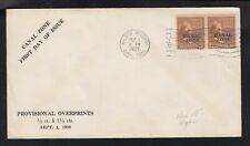 USA. CANAL ZONE 1939 First Day Cover