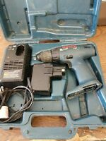 """Bosch 3305 12 Volt Cordless Drill 3/8"""" w/ battery & charger (Not Working)"""
