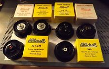 Collection 6 New Old Stock GARCIA MITCHELL 304 340 324 314 FISHING REEL SPOOLS
