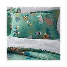 Lolli Living FULL QUEEN Reef 3 pc Comforter Set Green Aquatic Under the Sea NIP