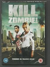 KILL ZOMBIE - sealed/new - UK REGION 2 DVD