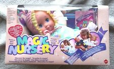 Vintage MAGIC NURSERY BABY DOLL (NEWBORN), MATTEL 1990! BRAND NEW OLD STOCK!