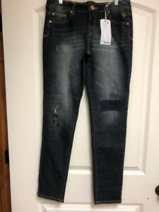 NWTs Justice Skinny Jeans 16 1/2 Size 16.5