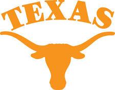 "Texas Longhorns cornhole (Bag Toss) 18"" x 14""  Vinyl Decals set of 2"