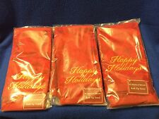 3 Piece Red Tip Towel Happy Holidays St Nicholas Square