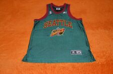 NBA STARTER JERSEY SEATTLE SUPERSONICS SCHREMPF #11 90s RARE !