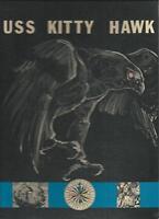 USS KITTY HAWK CVA-63 VIETNAM WESTPAC DEPLOYMENT CRUISE BOOK YEAR LOG 1970-71
