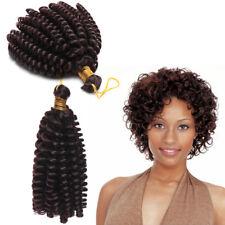 "Kanekalon Jamaican Bounce Crochet Curl Hair Real Natural 6"" Crochet Curly Afro"