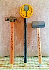 3 Very Rare! Heavy Weight Brewing Co Tap Handles >Collectors - ManCave - HomeBar