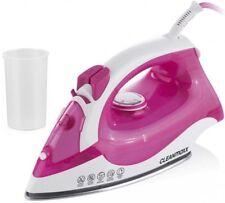 CLEANmaxx Dampfbügeleisen 2200 Watt  kratzfeste Edelstahlsohle Modell: pink
