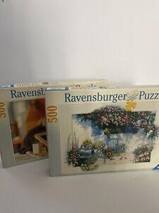 2x Ravensburger Puzzle 500 Piece