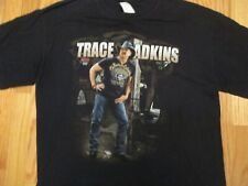 Trace Adkins Country Music Band Music Concert Tour T Shirt Size L