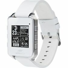 MetaWatch Frame Fitness Monitor Smart Meta Watch fo iPhone & Android Phone WHITE