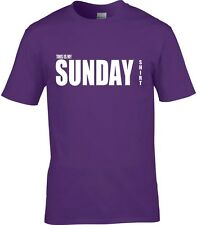 Sunday T-Shirt Men's Many Colours & Sizes All Days Of Week Available t-shirt