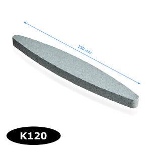 WORK-IT Schleifstein 230mm K120 Schärfstein Abziehstein Wetzstein Schleifhilfe
