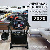 2020 Upgraded Foldable G29 Racing Steering Wheel Stand Plus Gearshift Mount
