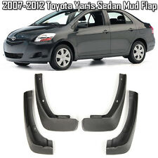 OE Front Rear set 4 Pcs Splash Mud Guards Flaps For 07-12 Toyota Yaris Sedan 4D