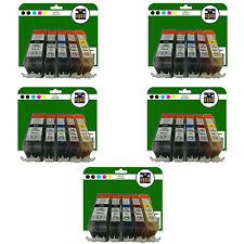 25 Cartuchos de tinta para Canon Pixma MP630 MP640 MP980 MP990 NO OEM 520/521