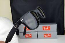Ray-Ban RB2132 55mm Sunglasses Black Rubber Frame Green Polarised Lens