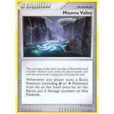 Pokemon Platinum Base Set Miasma Valley - 111/127 Reverse Foil Mint Card Game
