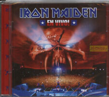 = IRON MAIDEN - EN VIVO! -Live In Santiago De Chile // 2CD sealed