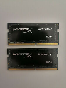 KINGSTON Module de RAM HyperX Impact - 32 Go (2 x 16 Go) - DDR4-2933/PC4-23400 D