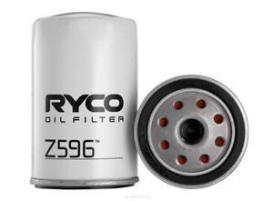 Ryco Oil Filter Z596 fits Jeep Cherokee 2.5 CRD 4x4 (KJ), 2.5 Tdi 4x4 (XJ) 85...