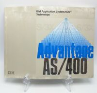 IBM AS/400  -  System/400  Guide - First Edition Book 1988 - Advantage AS/400