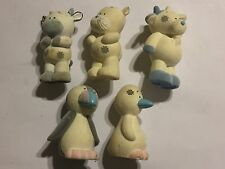 5x MY BLUE NOSE FRIENDS FIGURES #47 ZEE ZEE #59 WANDA #24 DIGGER #66 RAINBOW #21