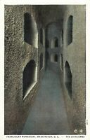 Postcard Catacombs Franciscan Monastery Washington DC