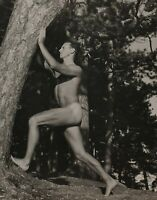 1990 Vintage BRUCE WEBER Outdoor Male Nude DOUG Forest Camp Fun Photo Art 12X16