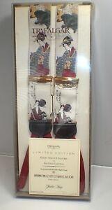 Trafalgar Geisha Song Limited Edition Silk Suspenders Braces 255/1000 New in Box