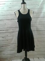 Urban Outfitter Sparkle And Fade Black Knit Women Large Sleeveless Dress