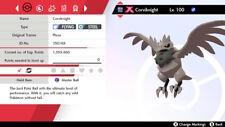 G-Max Corviknight 6IV Square Shiny - Pokemon Sword and Shield [Fast Delivery]
