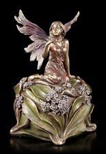 Cercueil - Elfe Sur Blumenblüte - Veronese Boîte à Bijoux Fantastique Fée Déco