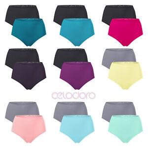 2er Pack Damen Taillenslip seamless - ohne Nähte - in schönen Farben