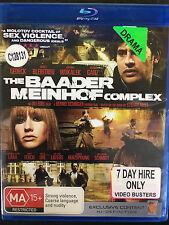 The Baader Meinhof Complex ex-rental blu ray (German crime movie)