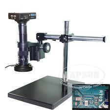 Measuring 1080P HDMI VGA HD USB Industry Microscope Camera Set 180X C-mount Lens