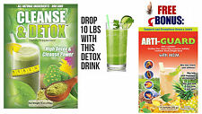 DETOX AND FLUSH 21 DAY CLEANSE 14 Oz Powder  - 1 BAG + free gift