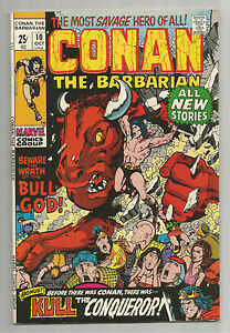 Conan the Barbarian #10: Bronze Age Grade 8.0 Giant-Sized Classic!!!