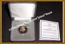 CHYPRE Coffret 2 Euro commémorative 2012 (BE - PROOF) - 10 ans de l'euro