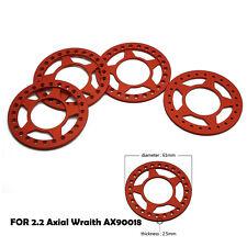"4pcs 2.2"" Beadlock Wheel Rings Five Star for Axial Wraith AX90018 RC Crawler"