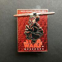 WDW - Star Wars Weekend 2012 - Darth Maul Donald Logo Pin - Disney Pin 90378